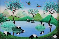 Copia de Il lago dei tapiri di Irene Invrea